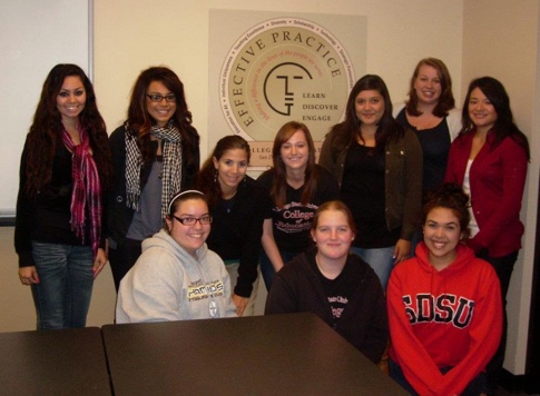 Photo: COE student council group shot