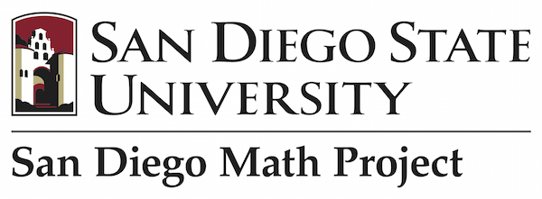 San Diego Math Project logo