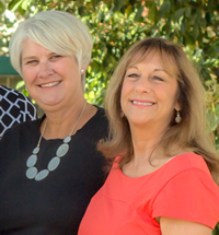 Laura Hall and Bonnie Kraemer
