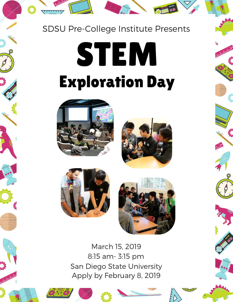 STEM Day flyer