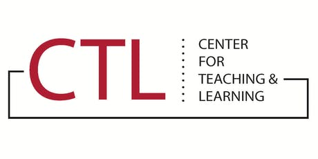 CTL logo. Center for Teaching & Learning.