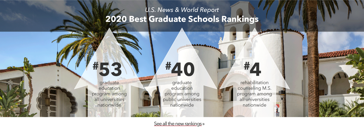 U.S. News & World Report 2020 Best Graduate Schools Rankings. #53