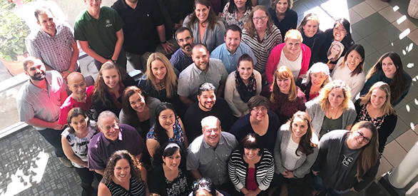 Noyce Master Teaching Fellows and SDSU faculty from the 2012-19 cohort (cropped).