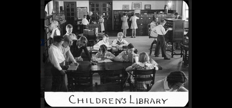 Photograph of children's library.
