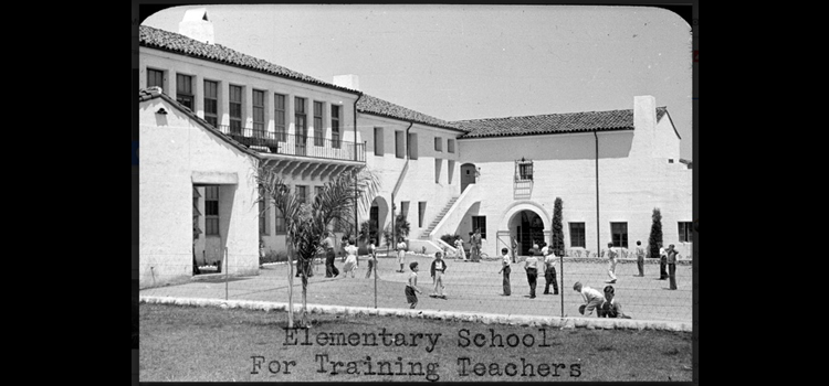 Photo of building for training teachers.