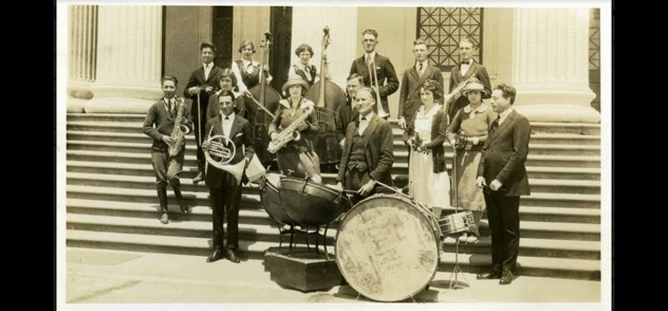 Photography of  State Teachers' College Orchestra, 1922,