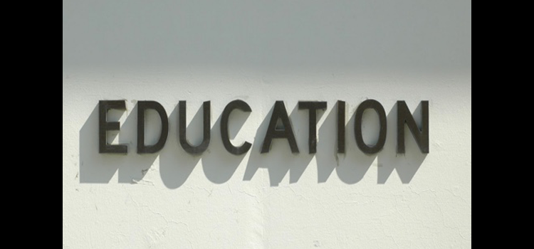 Education sign.